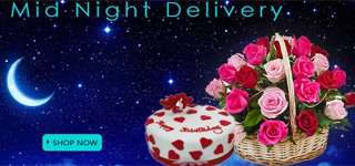 Midnight gifts delivery in Guntur